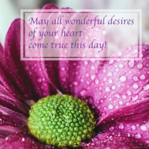 Wonderful heart desires coming true BD wish