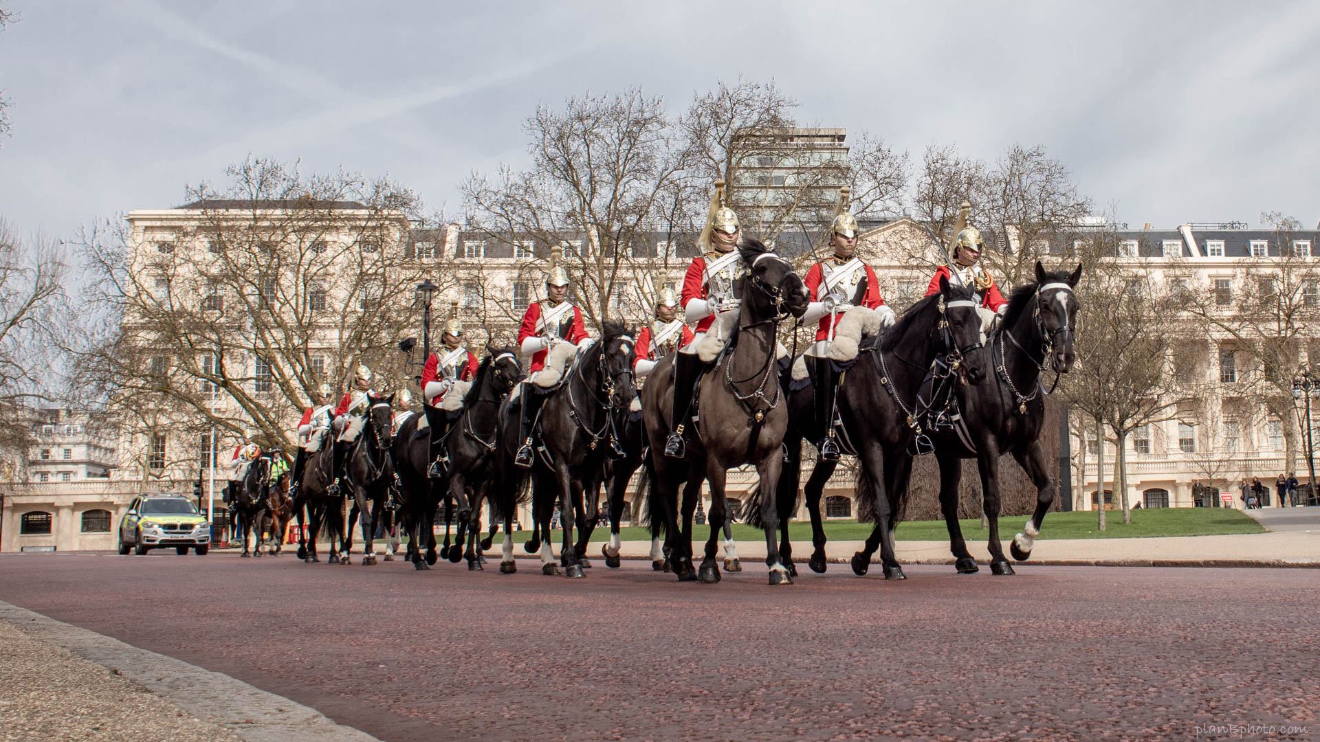 London horse guards parade