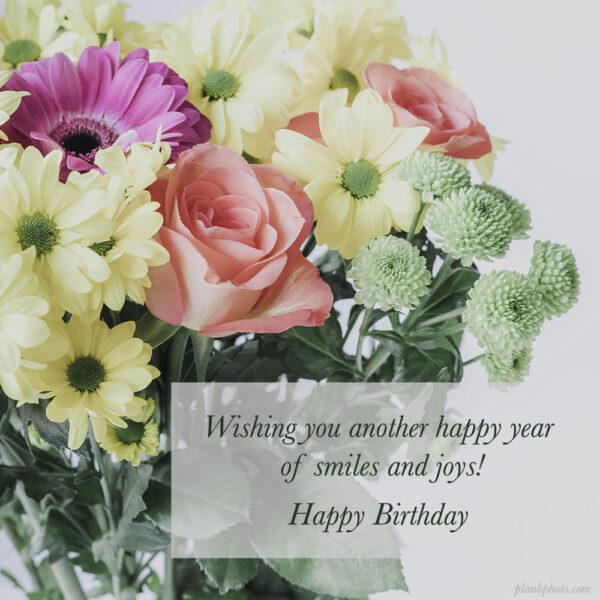 Wishing you another happy year Birthday Wish