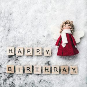 Happy Birthday winter angel